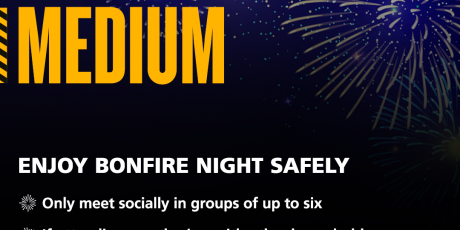 Celebrating Bonfire Night: keep it small, keep it safe