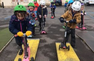 Chew Stoke School scores gold for sustainable travel