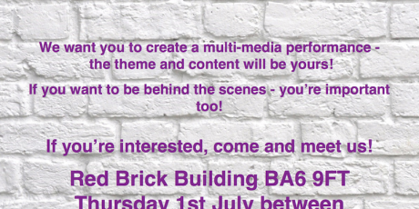 Creative opportunity for young people