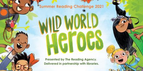 "Libraries invite: ""Children – become a Wild World Hero this summer"""
