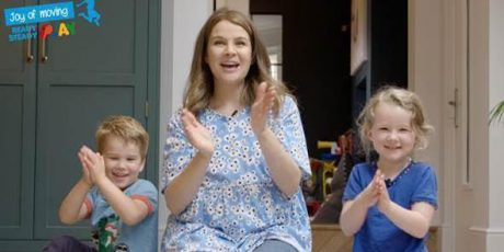 Izzy Judd launches summertime play series to encourage families to get ready… get steady… and play!
