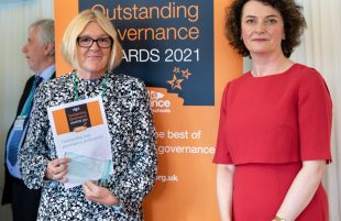 Somerset school governance professional scoops national award for outstanding practice