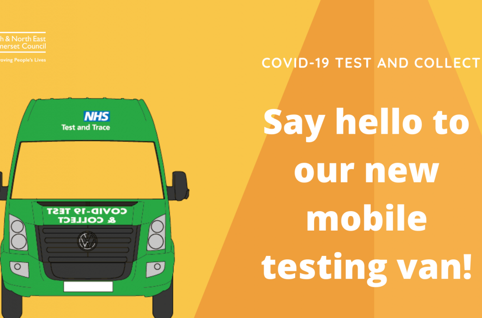 Mobile COVID-19 lateral flow testing van: times & locations