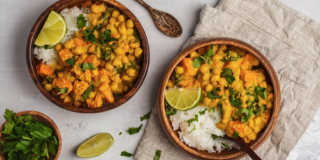 Get your five a day with this tasty veg curry!