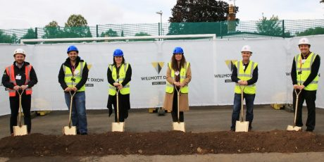 Construction begins to expand Taunton special school